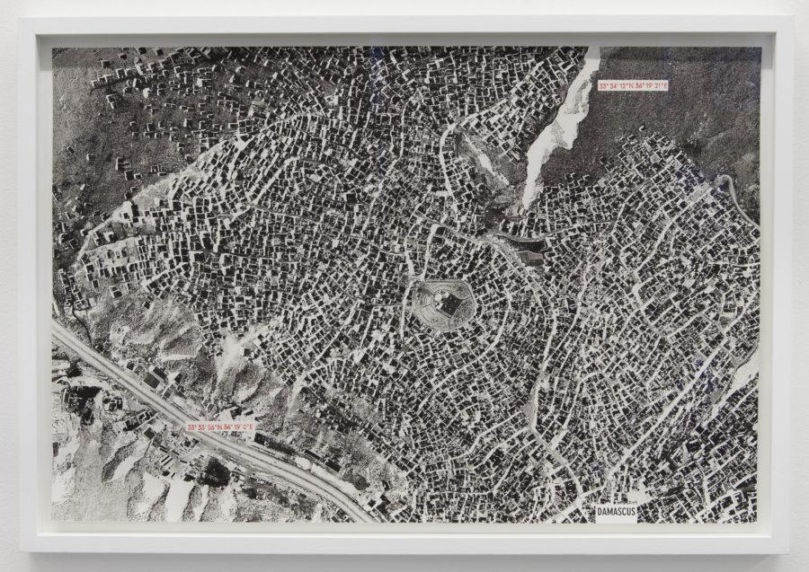 Paysage tremblant (Damas) - Galerie Imane Farès
