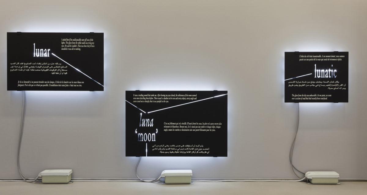 'absence-presence, twice' - Galerie Imane Farès
