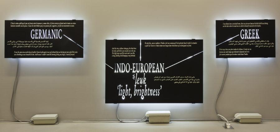 Joseph Kosuth - Galerie Imane Farès