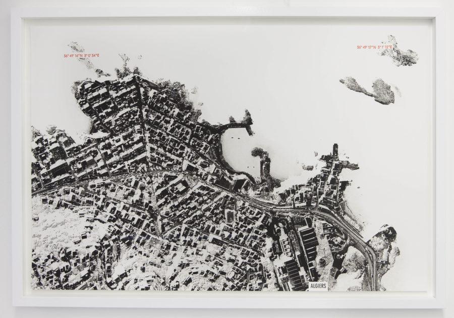 Paysage tremblant (Alger) - Galerie Imane Farès