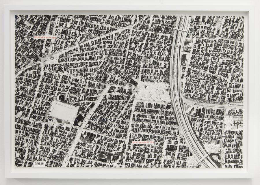 Paysage tremblant (Téhéran) - Galerie Imane Farès