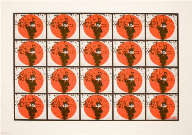 20 Targets, from the series Walls of Gaza II - Galerie Imane Farès