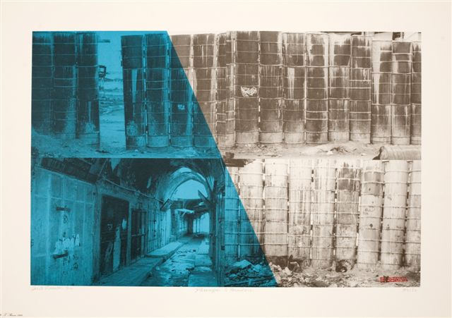 Passages to Freedom, from the series Walls of Gaza II - Galerie Imane Farès